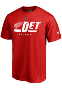Detroit Red Wings Pro Tricode T Shirt - Red