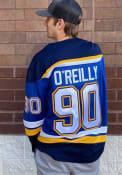 Ryan O'Reilly St Louis Blues 2019 Home Breakaway Hockey Jersey - Blue