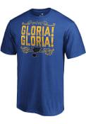 St Louis Blues Gloria T Shirt - Blue