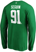 Dallas Stars Authentic Stack Player T Shirt - Green