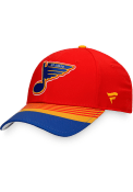 St Louis Blues Special Edition Structured Adjustable Hat - Red