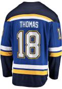 Robert Thomas St Louis Blues 2019 Home Breakaway Hockey Jersey - Blue