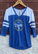 St Louis Blues Womens Home and Away T-Shirt - Blue