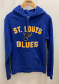 St Louis Blues Varsity Arch Hooded Sweatshirt - Blue