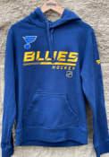 St Louis Blues POH Primary Hooded Sweatshirt - Navy Blue