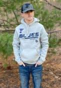 St Louis Blues POH Primary Hooded Sweatshirt - Grey