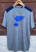 St Louis Blues Travel and Training Clutch T Shirt - Grey