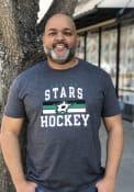 Dallas Stars Iconic Cotton Dynasty T Shirt - Grey