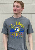 St Louis Blues True Classics Triblend Fashion T Shirt - Grey