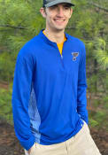 St Louis Blues Iconic Clutch 1/4 Zip Pullover - Blue