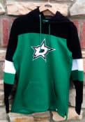 Dallas Stars Womens Iconic Hooded Sweatshirt - Green