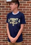 Philadelphia Union Team Slogan Postseason Participant T Shirt - Navy Blue