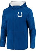 Indianapolis Colts Embossed Defender Zip - Blue