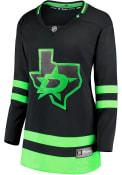 Dallas Stars Womens Alt Breakaway Hockey Jersey - Black