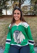 Chicago Blackhawks St Patricks Day Breakaway Hockey Jersey - Kelly Green
