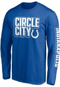 Indianapolis Colts FACEMASK T Shirt - Blue