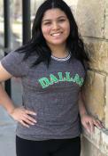 Dallas Ft Worth Womens Ringer T-Shirt - Grey