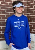 Kansas City Royals Nike Color Bar T Shirt - Blue