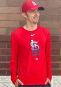 St Louis Cardinals Nike Baseball Legend T-Shirt - Red