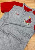 St Louis Cardinals Nike Coop Henley Fashion T Shirt - Grey