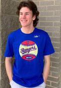 Texas Rangers Nike Coop Baseball T Shirt - Blue