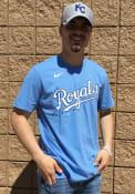 Whit Merrifield Kansas City Royals Nike Name And Number T-Shirt - Light Blue