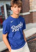 Adalberto Mondesi Kansas City Royals Nike Name Number T-Shirt - Blue