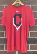 Cleveland Indians Nike Legend T Shirt - Red