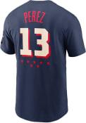 Salvador Perez Kansas City Royals Nike All Star Game T-Shirt - Navy Blue
