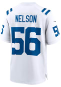 Quenton Nelson Indianapolis Colts Nike Road Game Football Jersey - White