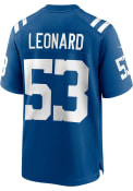 Darius Leonard Indianapolis Colts Nike Home Game Football Jersey - Blue