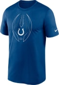 Indianapolis Colts Nike Speed Outline T Shirt - Blue