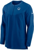 Indianapolis Colts Nike Dry Top UV HZ 1/4 Zip Pullover - Blue