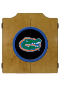 Florida Gators Team Logo Dart Board Cabinet