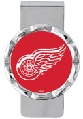 Detroit Red Wings Classic Money Clip - Red