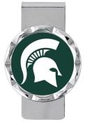 Michigan State Spartans Classic Money Clip - Green