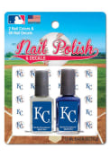 Kansas City Royals Nail Polish and Decal Duo Cosmetics