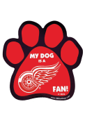 Detroit Red Wings Paw Pet Magnet