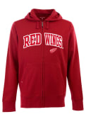 Antigua Detroit Red Wings Red Signature Full Zip Jacket