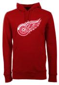 Antigua Detroit Red Wings Red Signature Hoodie