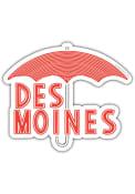 Des Moines Umbrella Stickers