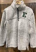 Eastern Michigan Eagles Womens Sherpa 1/4 Zip Pullover - Grey