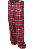 Dayton Flyers Womens Flannel Sleep Pants - Navy Blue