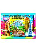 Cincinnati Watercolor Magnet Magnet