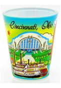 Cincinnati Cin Shotglass Shot Glass