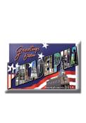 Philadelphia Greetings Photo Magnet
