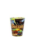 Chicago Retro College Design Shot Glass