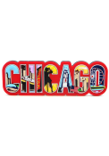 Chicago Chicago Text Magnet