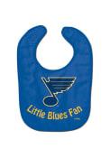 St Louis Blues Baby All Pro Bib - Blue