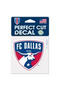 FC Dallas 4x4 Perfect Cut Auto Decal - Red